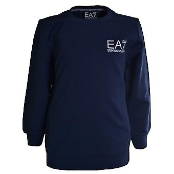 EA7 Boys EA7 Kids Navy Blue Lightweight Sweatshirt