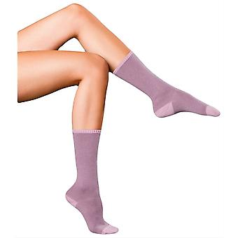 Falke meilleurs No1 Cachemire Relax chaussettes - lilas poussiéreux