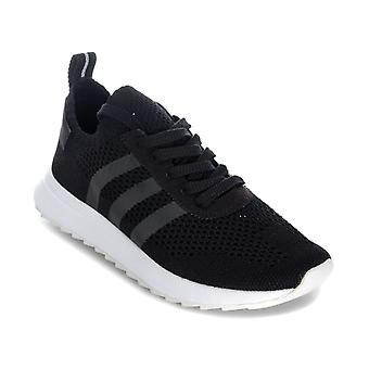 Womens adidas Originals Primeknit Flb Trainers In Core Black / Footwear White