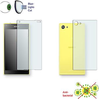 Sony Xperia Z5 compact display protector - Disagu ClearScreen protector (1 front / 1 rear)