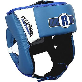 Ringside Boxing Open Face Elite Sparring Headgear  - Blue/White