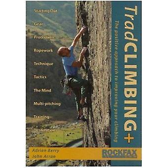Trad Climbing + by Adrian Berry - John Arran - 9781873341919 Book
