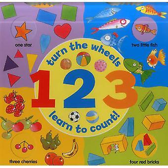 1 2 3 (Rad eines Buches) - drehen sich die Räder - lernen, Graf von Jan Lewis-