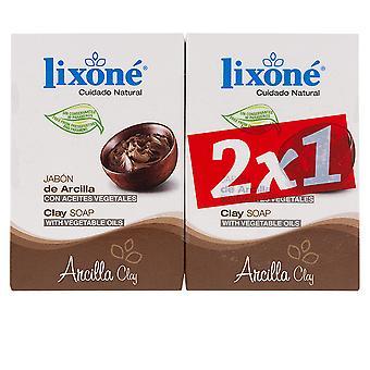 Lixone Arcilla Jabón Piel Grasa 2 X 125 Gr Unisex