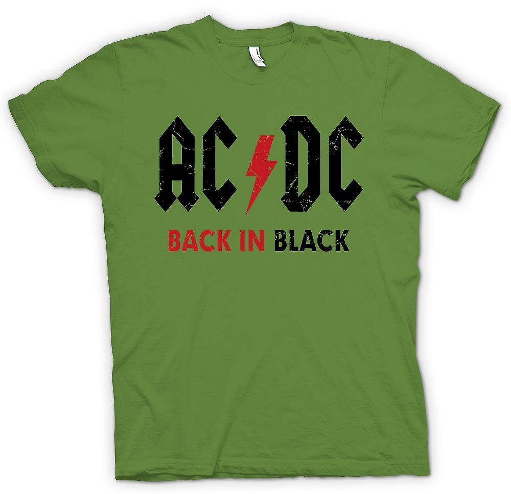 Mens T-shirt - AC/DC - Back In Black