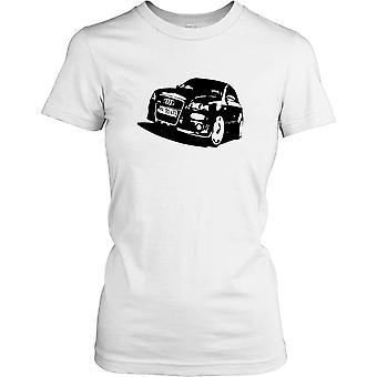 Audi RS4 Car - Sports Car Ladies T Shirt