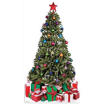 شجرة عيد الميلاد (عيد الميلاد)-انقطاع الكرتون شمعي/الواقف