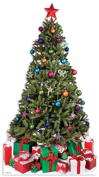 Granen (jul) - Lifesize kartong släppandet / stående