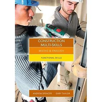 Maths and English for Construction Multi-Skills: Functional Skills