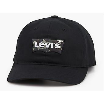 Levi Men's Flexfit Snapback Cap ~   Big Batwing camo