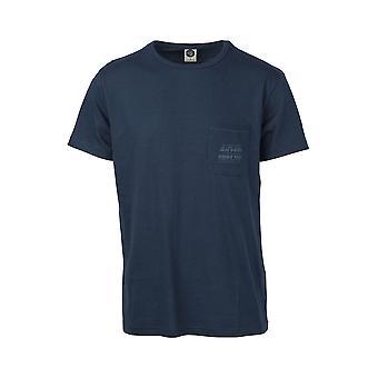 Rip Curl T-Shirt avec poche ~ organique d bleu