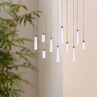 Meteor Ceiling Pendant LED Living Room Décor 10 Light Pendant Rectangular Canopy