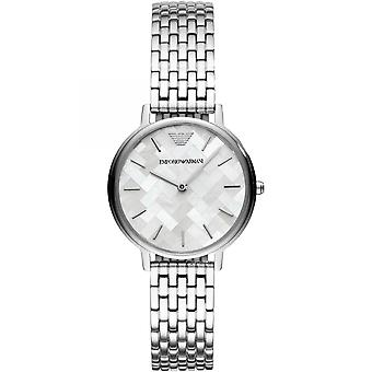 Emporio Armani  Quartz Silver Ladies Womens Wrist Watch AR11112