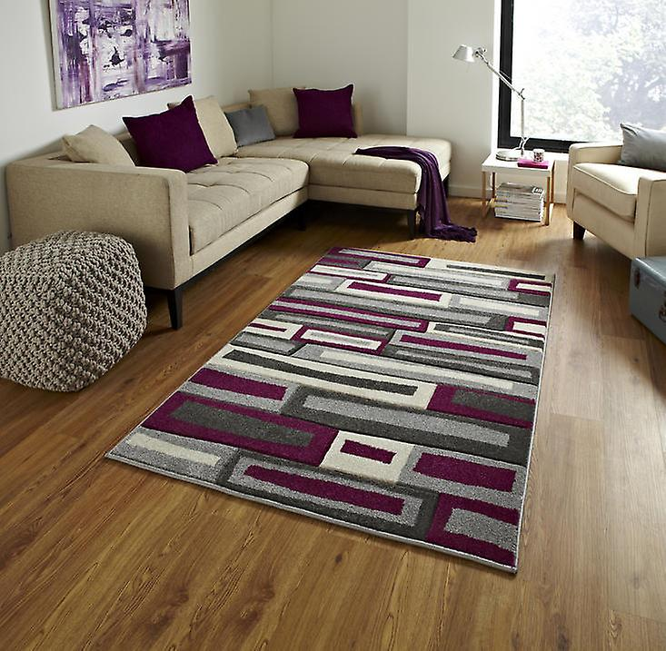 Rugs - Mantra FR40 - Grey & Purple