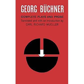 BUCHNER COMPLETE PLAYS by Georg Buchner - 9780809007271 Book