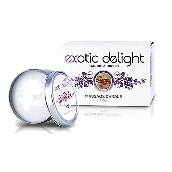 CBC 4 i 1 doftande Massage Candle Tin: exotiska Delight