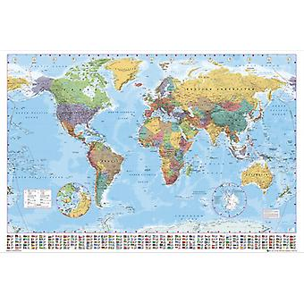 World Map 2012 Giant Poster 100x140cm