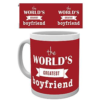 Valentines Worlds Greatest Boyfriend Boxed Drinking Mug