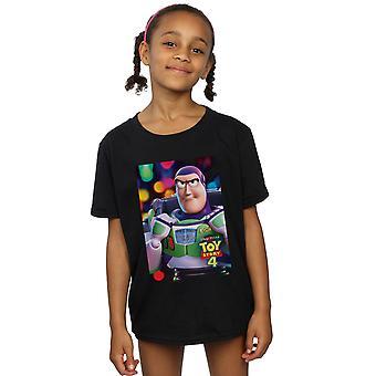 Disney Mädchen Spielzeug Geschichte 4 Buzz Lightyear Poster T-Shirt