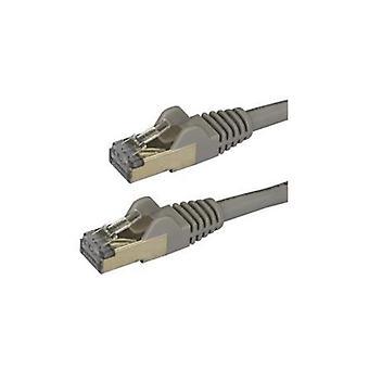 Startech 1M Gray Cat6A Ethernet Cable Stp