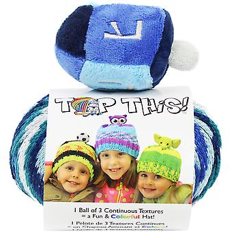 DMC Top This! Yarn-Dreidel TTY-15DR