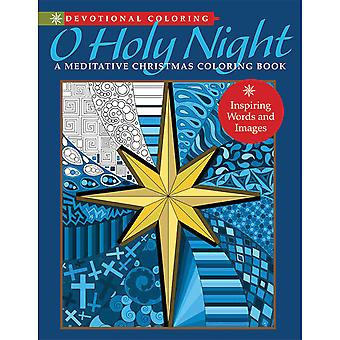 Mixed Media ressources-O Holy Night Coloriage livre RRO-21995