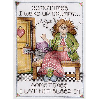 Grumpy Counted Cross Stitch Kit 5