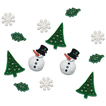 Dress It Up Holiday Embellishments Christmas Past Diuhlday 2479