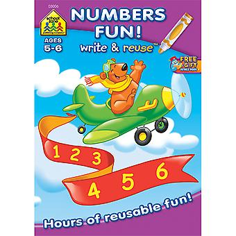 Write And Reuse Workbook Math Fun! Szwrw 3006