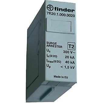 Surge arrester (plug-in) Surge prtection for: Switchboards Finder Funkenstrecken-Schutzmodul 7P.20.1.000.0020 20 kA