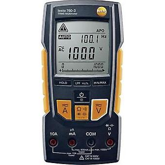 Handheld multimeter testo True-rms Multimeter - testo 760-3 Calibrated to: Manufacturer standards