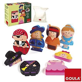 Goula Magnetic Puzzle Characters (Toys , Preschool , Puzzles And Blocs)