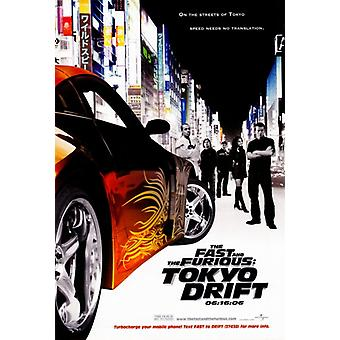 The Fast and the Furious Tokyo Drift Movie Poster Print (27 x 40)