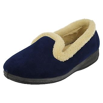 Ladies Four Seasons Slip On Slippers Emma