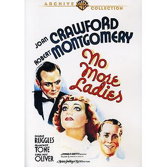 No More Ladies [DVD] USA import