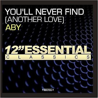 Aby - You'Ll Never Find (Another Love) [CD] USA import