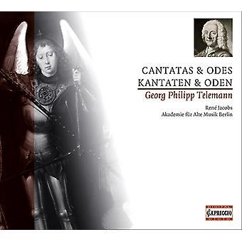 G.P. Telemann - Telemann: Importación de USA de Cantatas y odas [CD]