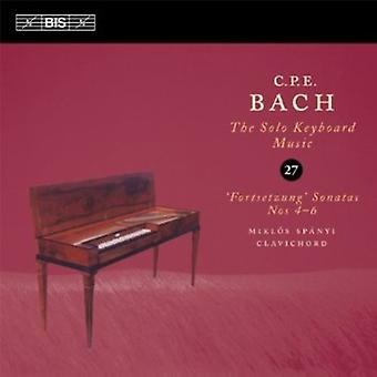 C.P.E Bach - C.P.E Bach: The Solo Musik für Tasteninstrumente, Vol. 27 [CD] USA import
