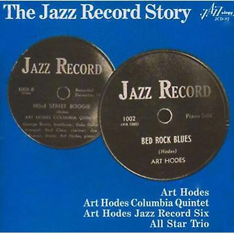 Art Hodes - Jazz Record historie [CD] USA import