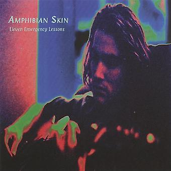 Amphibian Skin - Eleven Emergency Lessons [CD] USA import