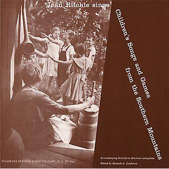 Jean Ritchie - Children's Songs & Games From the Southern Mountai [CD] USA import