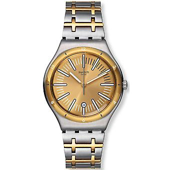 Staal rit In stijl Mens Watch YWS410G