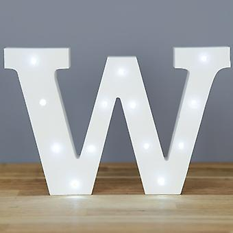 LED letter - Yesbox lights letter W