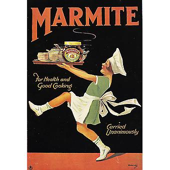 Marmite Advertisment Poster Print Giclee