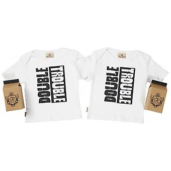 Verwöhnte faulen Double Trouble Toddler T-Shirt