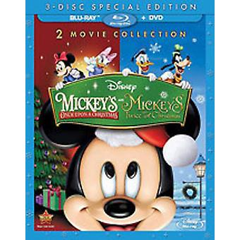 Mickeys Once/Twice Upon a Chr [BLU-RAY] USA import