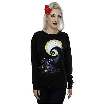 Disney Women's Nightmare Before Christmas Cemetery Sweatshirt