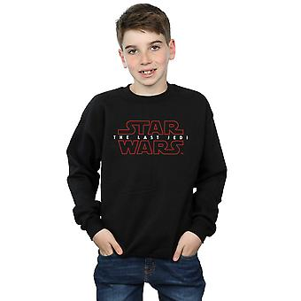 Star Wars Boys The Last Jedi Logo Sweatshirt