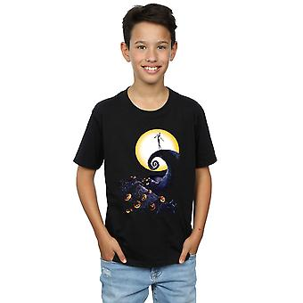 Disney Boys Nightmare Before Christmas Cemetery T-Shirt