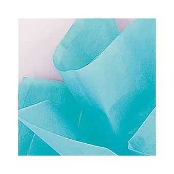 10 vellen zijdepapier - Teal groen | Gift Wrap Supplies